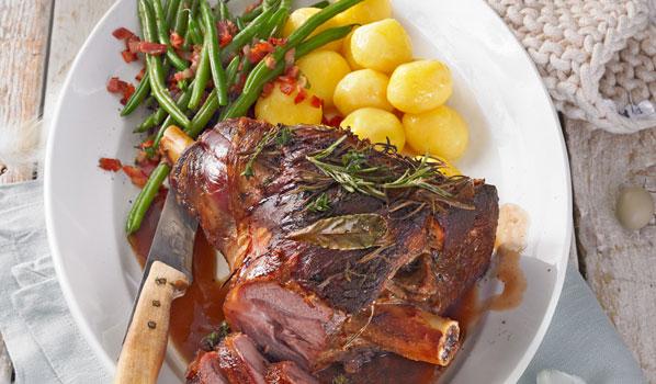 Lammkeule: Nicht nur an Ostern ein Festmahl