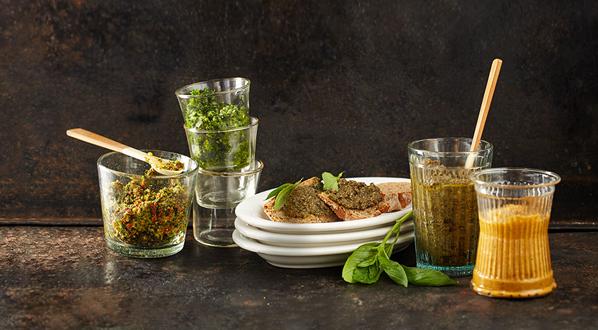 Kräuter: Pesto daraus selber machen