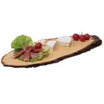 Servierplatte aus Holz