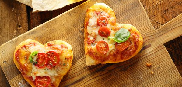 pizza kochen oder backen
