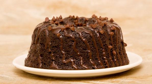 Geburtstagskuchen: Schokoladenkuchen