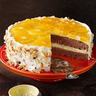 Orangen-Schoko-Torte