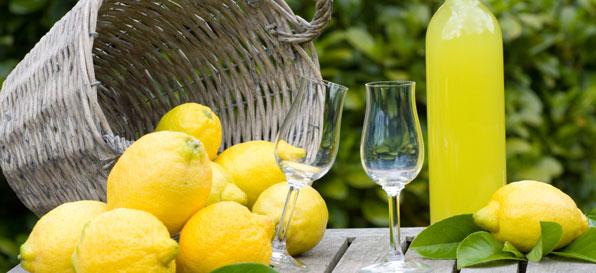 Italienische Rezepte: Limoncello