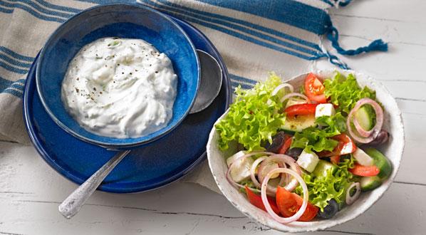 Griechische Rezepte: Bauernsalat