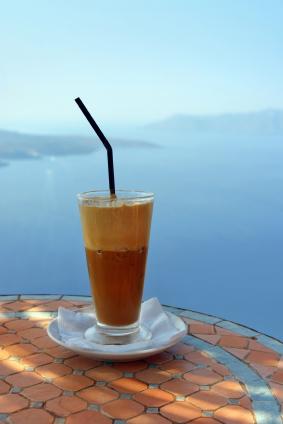 Griechischer Café frappé