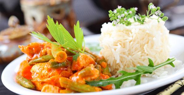 Reisgerichte, leicht