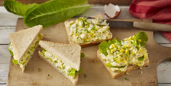 Sandwich mit Eiersalat