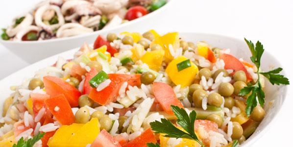 Reissalat auf die leichte Art