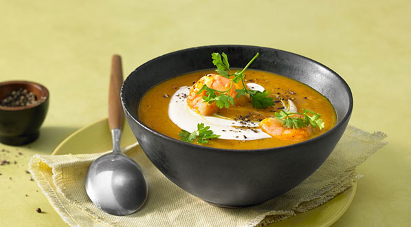 Kürbissuppe - ein echter Herbstklassiker