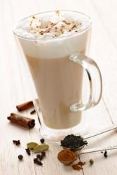 Cremig-w�rziger Chai Latte