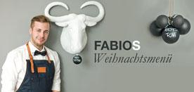 Fabios 3-Gänge Weihnachtsmenü