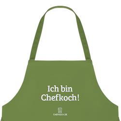 Schürze: Ich bin Chefkoch!