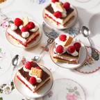 Himbeer-Keks-Schnitten