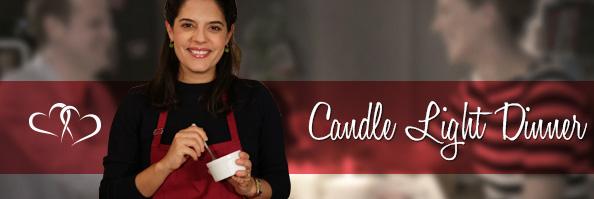 Candle Light Dinner von Luisa Weiss