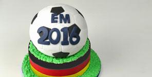 Tortenknaller zur Fußball EM 2016