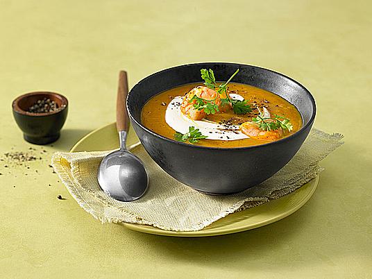 Rezept für Kürbissuppe und wie Sie servieren sollten