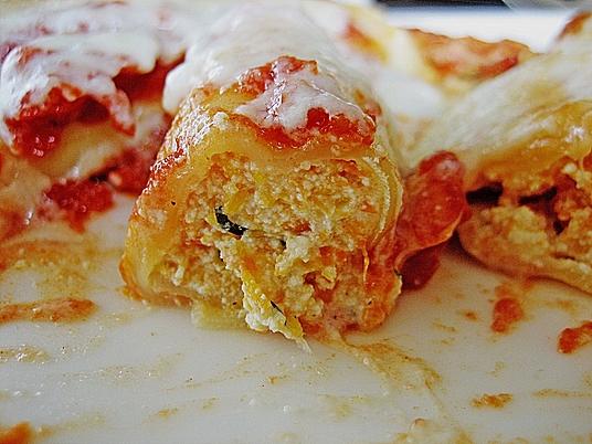 Kürbis - Ricotta - Cannelloni