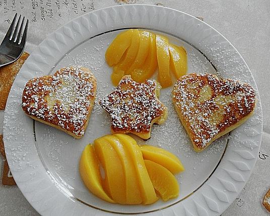 Süße Kartoffelherzen