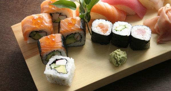 Reis: Sushi