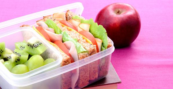 gesunde Ernährung: Pausensnack