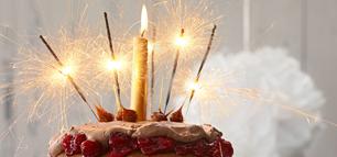 Geburtstagskuchen für jeden Geschmack