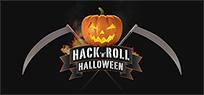 Halloween-Kürbis mit Hackfleisch-Füllung