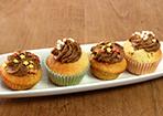 Cupcakes mit Espresso-Buttercreme