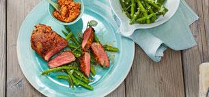 Steaks richtig braten: So wird das Steak medium