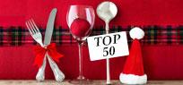 Die Top 50 Rezepte für Ihr Weihnachtsmenü