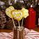 Butterplätzchen aus der Weihnachtsbäckerei