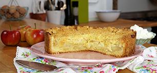 Apfelkuchen – Streuselkuchen mit Äpfeln