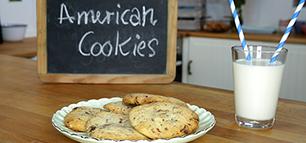 American Cookies – weich und knusprig zugleich