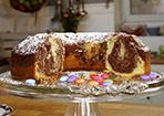 Marmorkuchen zum Geburtstag
