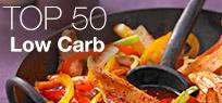 Top 50: Die besten Low Carb Rezepte