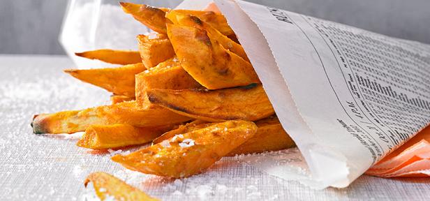 WANTED: Süßkartoffelpommes und mehr
