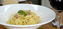 Spaghetti Carbonara: beliebter Pasta-Klassiker