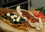 raclette flammkuchen rezept mit bild von cookingjulie. Black Bedroom Furniture Sets. Home Design Ideas