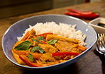 Thai-Curry mit Huhn