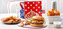 Amerikanische Snacks für den großen Super Bowl