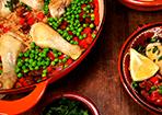 Einfache Paella