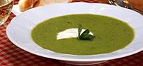 Erbsen-Minz-Suppe: leicht und frisch