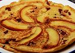 Apfel-Thymian-Speckpfannkuchen