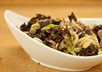 Udon-Nudeln mit Rindfleisch