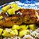 Lachs mit Mango und Reis