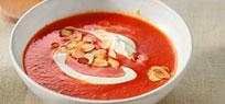 Tomatensuppe: cremig, aromatisch, fruchtig