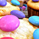 Bunte Joghurt-Muffins