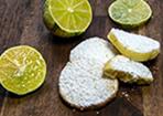 Limetten-Kekse