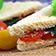 Rucola-Sandwich mit Parmaschinken