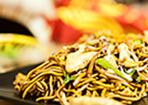 Gebratene Nudeln wie vom China Imbiss