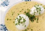 Eier in Senf-Sauce